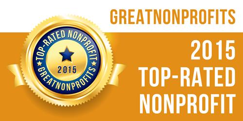 Great Nonprofits Badge - 2015