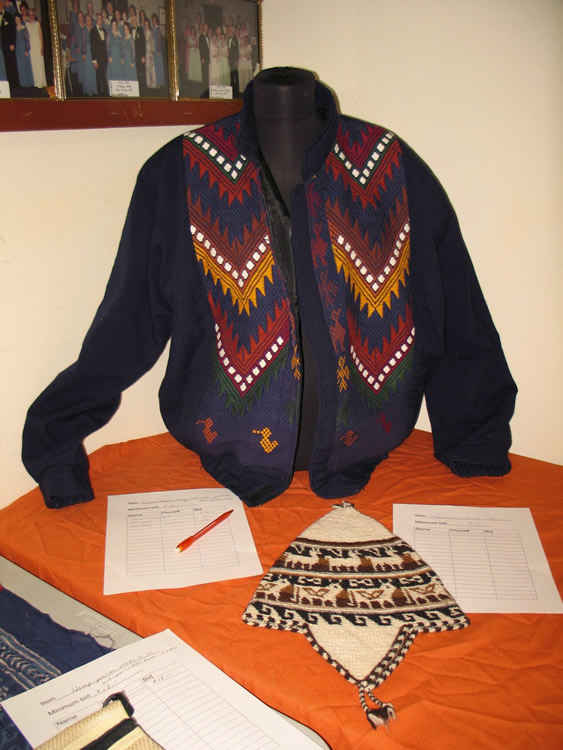 Jacket offered at previous auction