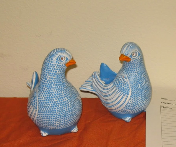 Birds offered at previous auction