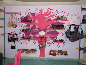 The handicraft store